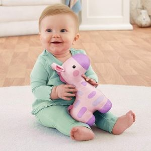 Fisher-Price soothe & glow giraffe in pink